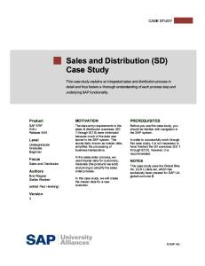 04 VU Intro ERP Using GBI Case Study SD A4 en v2.01