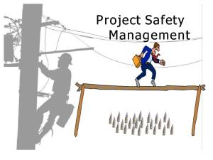 13. Project Safety Management