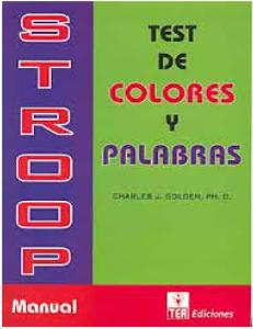 159844839 Test de Stroop Manual COMPLETO