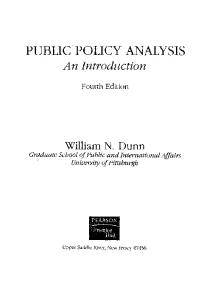 224783764 Public Policy Analysis