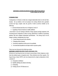 36849028-Refinery-Configuration-With-Figures.doc