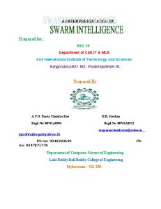 44662670-Swarm-Intelligence