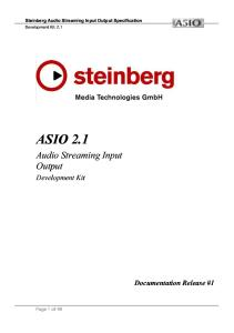 9  ASIO SDK 2 1 - PDF Free Download