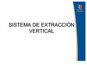 9.- Sistema de Extraccion Vertical