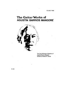 A. Barrios - Complete Works Vol.3 (Stover Ed.)