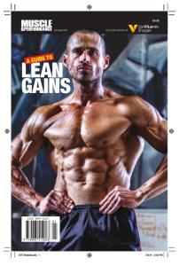 A Guide to Lean Gains