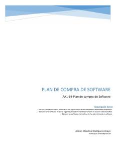 AA1-E4-Plan de Compra de Software