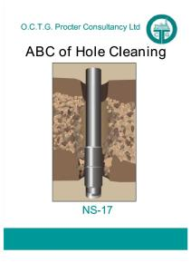 ABC of Hole Cleaning