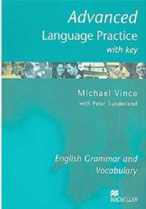 Advanced Language Practice Michael Vince With Key New Edition