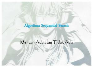 Algoritma Sequential Search Pdf Free Download