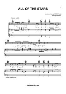 All-Of-The-Stars-Sheet-Music-Ed-Sheeran-(SheetMusic-Free.com).pdf