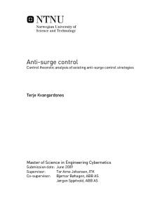 Anti-surge control - Analysis and Strategies.pdf