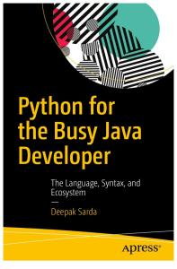 Apress - Python for the Busy Java Developer (Sarda) (2017)