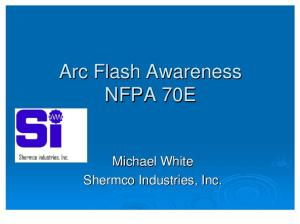 Arc Flash Basics