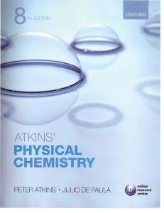 Atkins - Physical Chemistry 8th Edition
