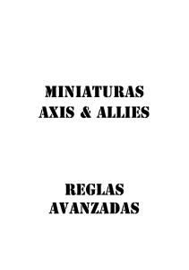 Axis and Allies Minis-Castellano