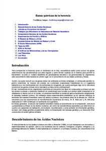 Bases Quimicas Herencia