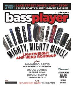 Bass Player 2016 Vol.27 No9 September