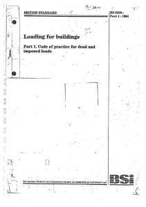 BS 6399-Part1-1996 Loading for Buildings