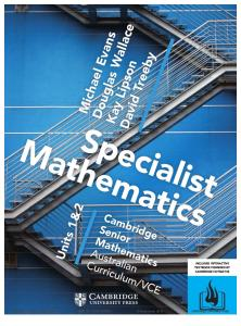Cambridge Specialist Mathematics Units 1 2 AC VCE Complete Book PDF