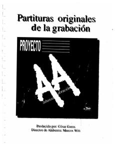 Canzion Proyecto AA PDF