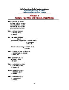 Ch 2 Solutions - Engineering Economy, 7 th editionLeland Blank and Anthony Tarquin