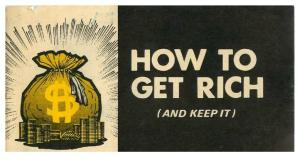Chick Tract - How to Get Rich (and Keep It)