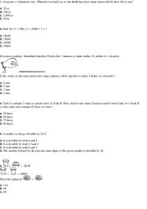 Class 6 NSO Sample Paper1