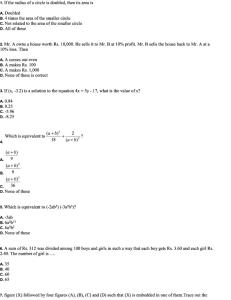 Class 9 NSO Sample Paper 11