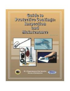 Coatings_A Guide to Protection_Inspection & Maintenance - Bureau of Reclamation