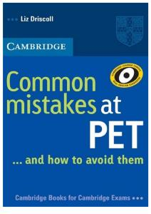 Common Mistakes at PET.pdf