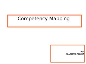 Competency Mapping and Assessment Centre