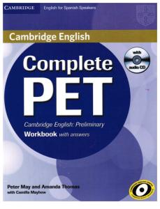 Complete Pet WORKBOOK Whitout Answers