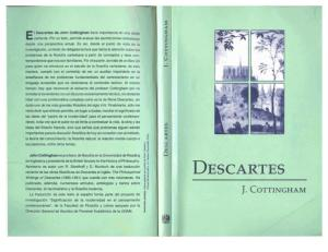 Cottingham, John. Descartes.
