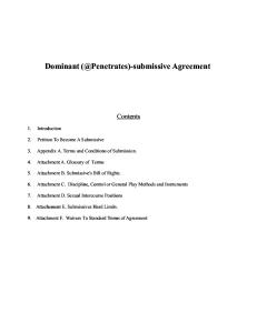 Ds Agreement
