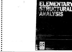 Elementary Structural Analysis - By Wilbar Norris(1)