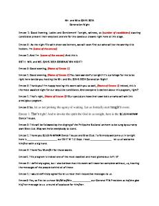 Emcee Script for Pageant - PDF Free Download