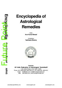 Encyclopedia of Astrological Remedies - PDF Free Download