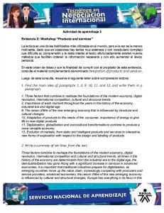 Evidencia 2 Workshop Products and Services (2)