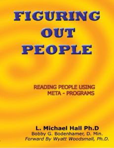 Figuring Out People Michael Hall