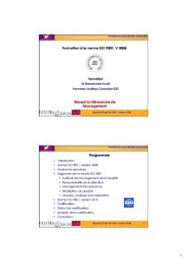 Formation Norme ISO-9001
