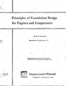 Foundations for Compressors