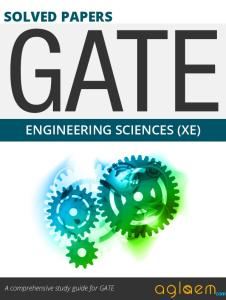 GATE Solved Question Papers for Engineering Sciences [XE] by AglaSem.Com