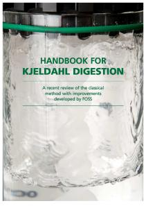 Handbook for Kjeldahl Digestion
