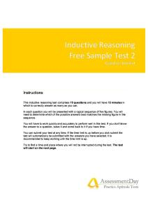 Inductive Reasoning Test2 Questions
