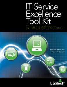 It Service Excellence Tool Kit Np