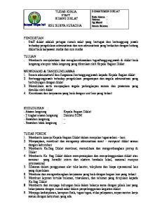 Job Description Staff Diklat