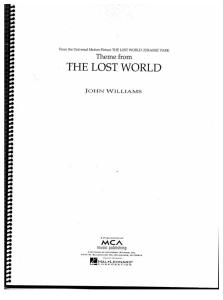 John Williams - The Lost World - Score