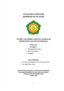 Kelompok 9-Family Centered Care & Health Promotion
