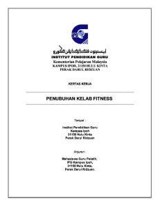 Kertas Kerja Fitness Club